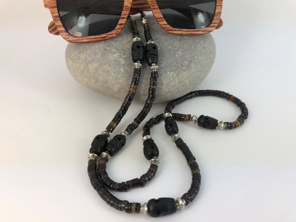 She'll Skull Glasses Chain