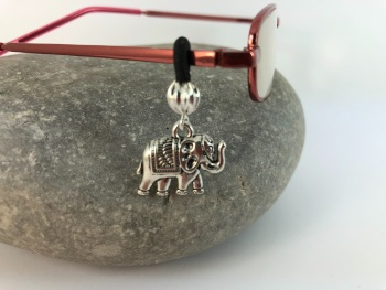 Elephant Glasses Charm
