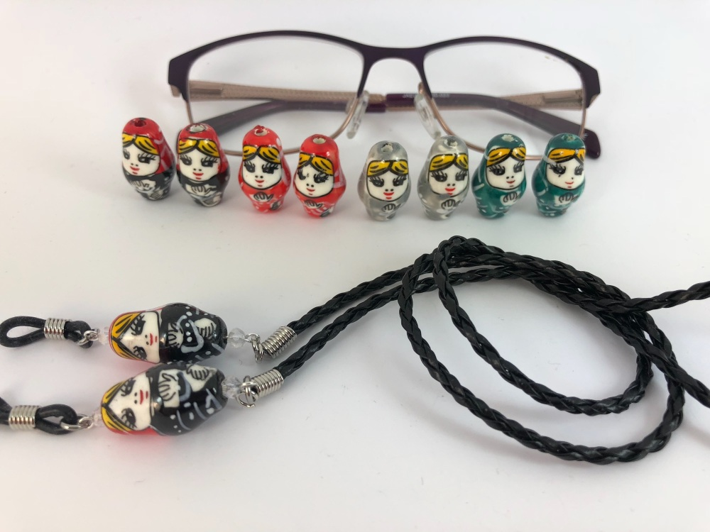 Russian Doll Glasses Chain