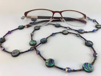 Abalone Shell Glasses Chain