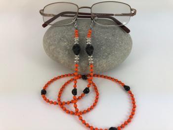 Orange Skull Chain