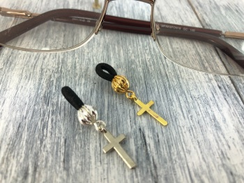 Cross Glasses Charm