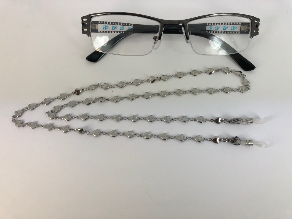 Heart Link Glasses Chain