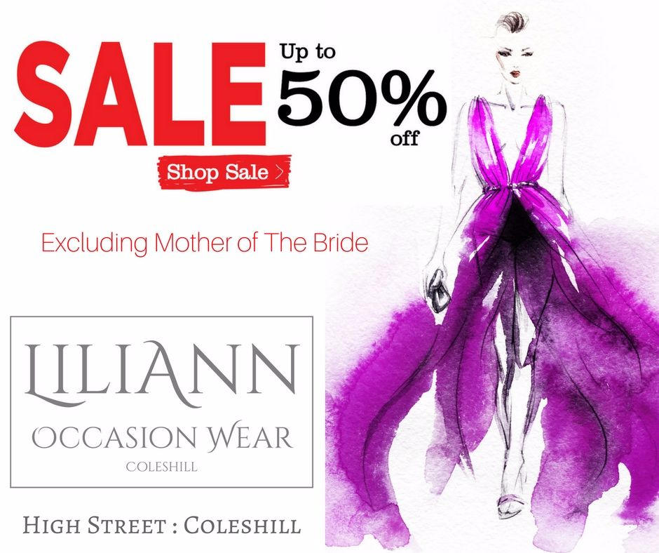 Liliann SALE - excluding mother of the bride