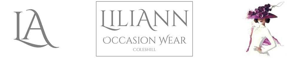 Liliann Occasion Wear, site logo.