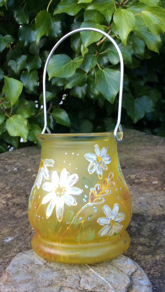 Yellow Daisy lantern