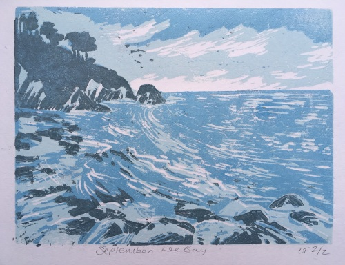 September,Lee bay by Louise Thompson