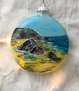 Glass bauble Putsborough
