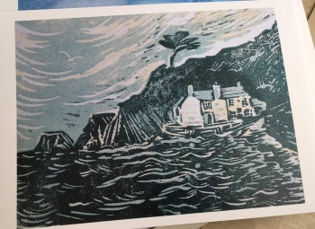Mill house print