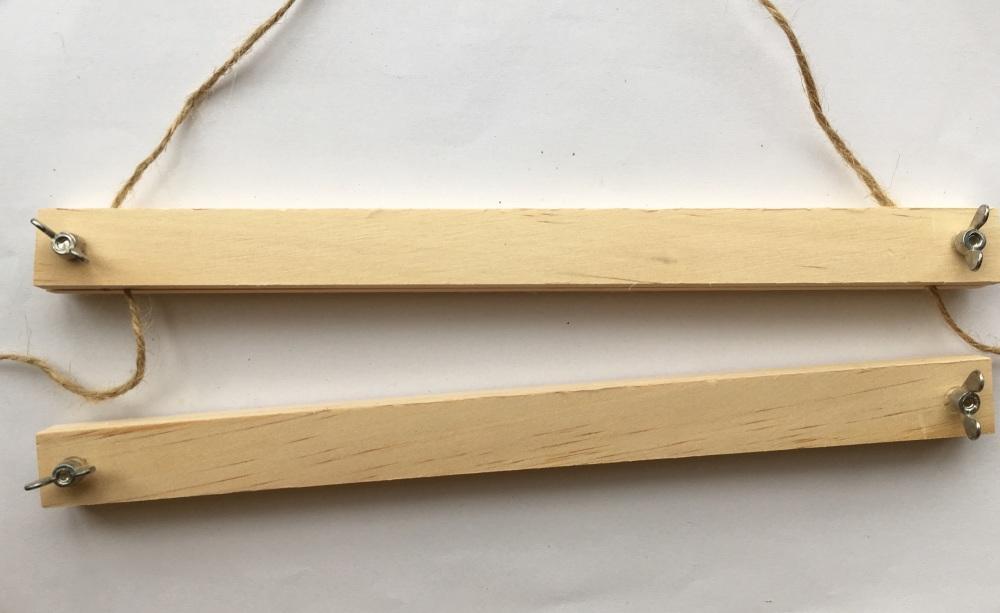 Wooden Poster Hangers A4