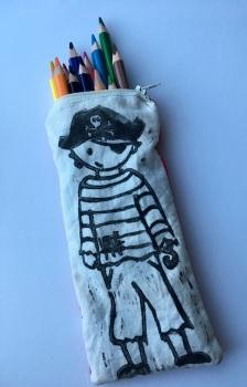 Pirate pencil case