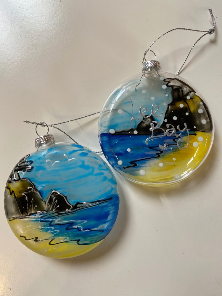 Lee Bay Bauble