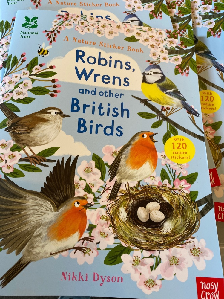 Robins,wrens and other British birds