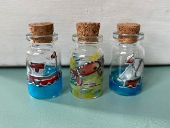 Seaside mini bottles