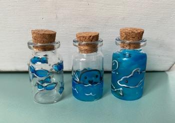 Under the sea mini bottles