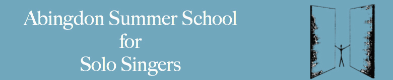 Abingdon Summer School for Solo Singers, site logo.