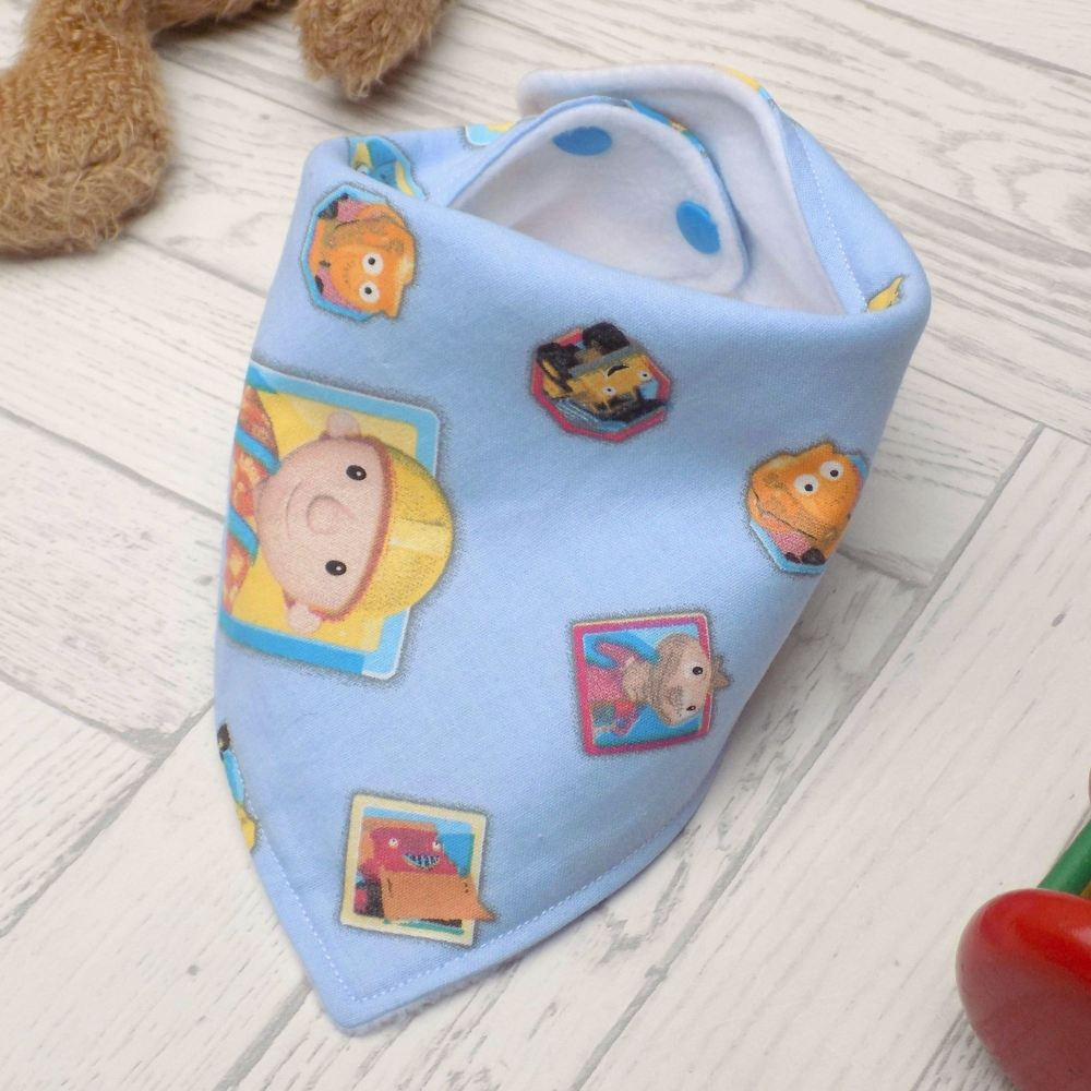 Bob the Builder Bandana Bib