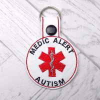 Autism Awareness Keyring