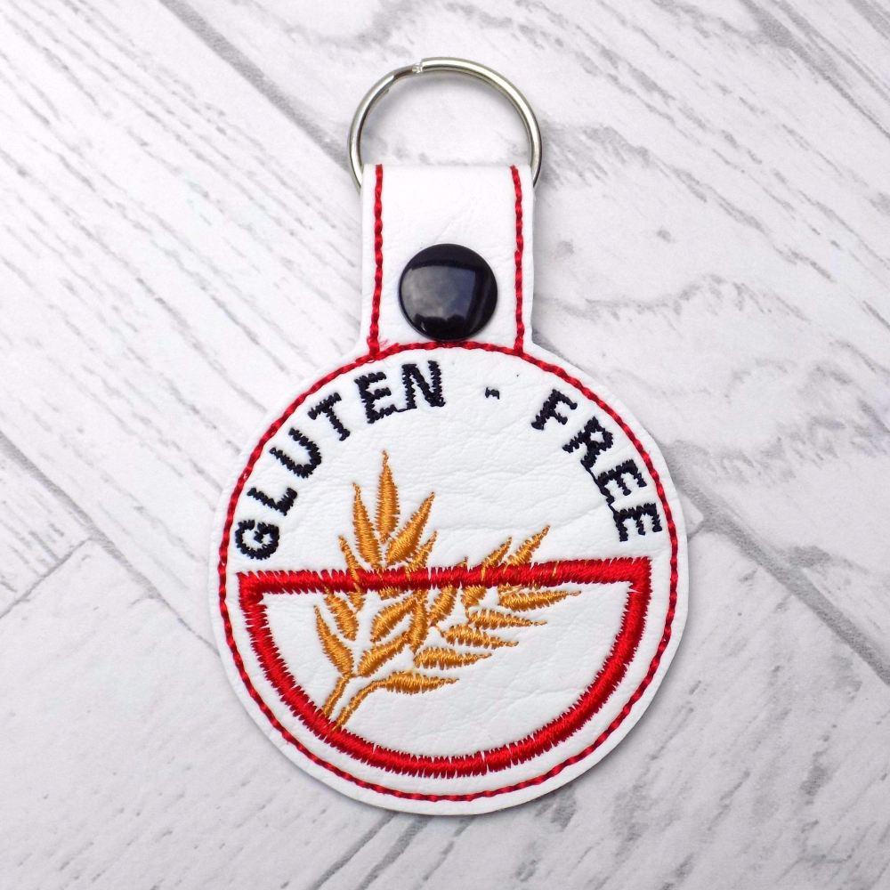 Gluten Free Medic Alert Keyring