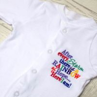 Rainbow of Hope Sleepsuit