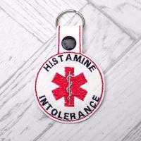 Histamine Intolerance Medic Alert Keyring