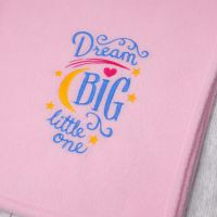 Dream Big Fleece Blanket