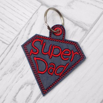 Super Dad Keyring
