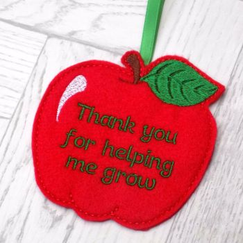 Personalised Teacher Apple