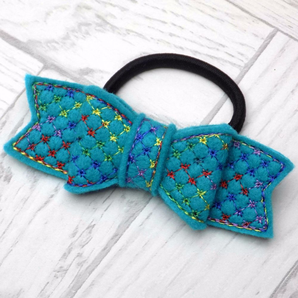 Starburst Felt Hair Bow