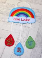 Rainbow Birth Keepsake