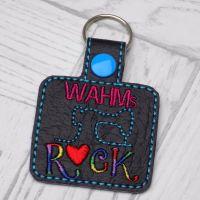 WAHMs Rock Keyring