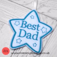 Best Dad Star Decoration
