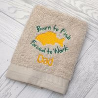 Born to Fish DAD Flannel