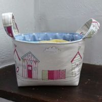 Mini Fabric Storage Basket
