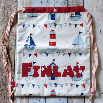 Sailing Boats School PE Bag