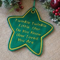 Twinkle Twinkle Star Christmas Decoration