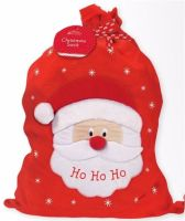 Ho Ho Ho Santa Personalised Christmas Sack