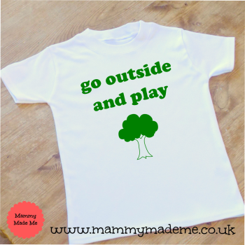 Go Outside and Play T-Shirt
