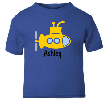 Personalised Submarine T-Shirt