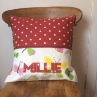 Personalised Story Time Cushion - Butterflies Design