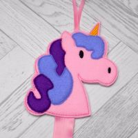 Unicorn Hair Clip Holder