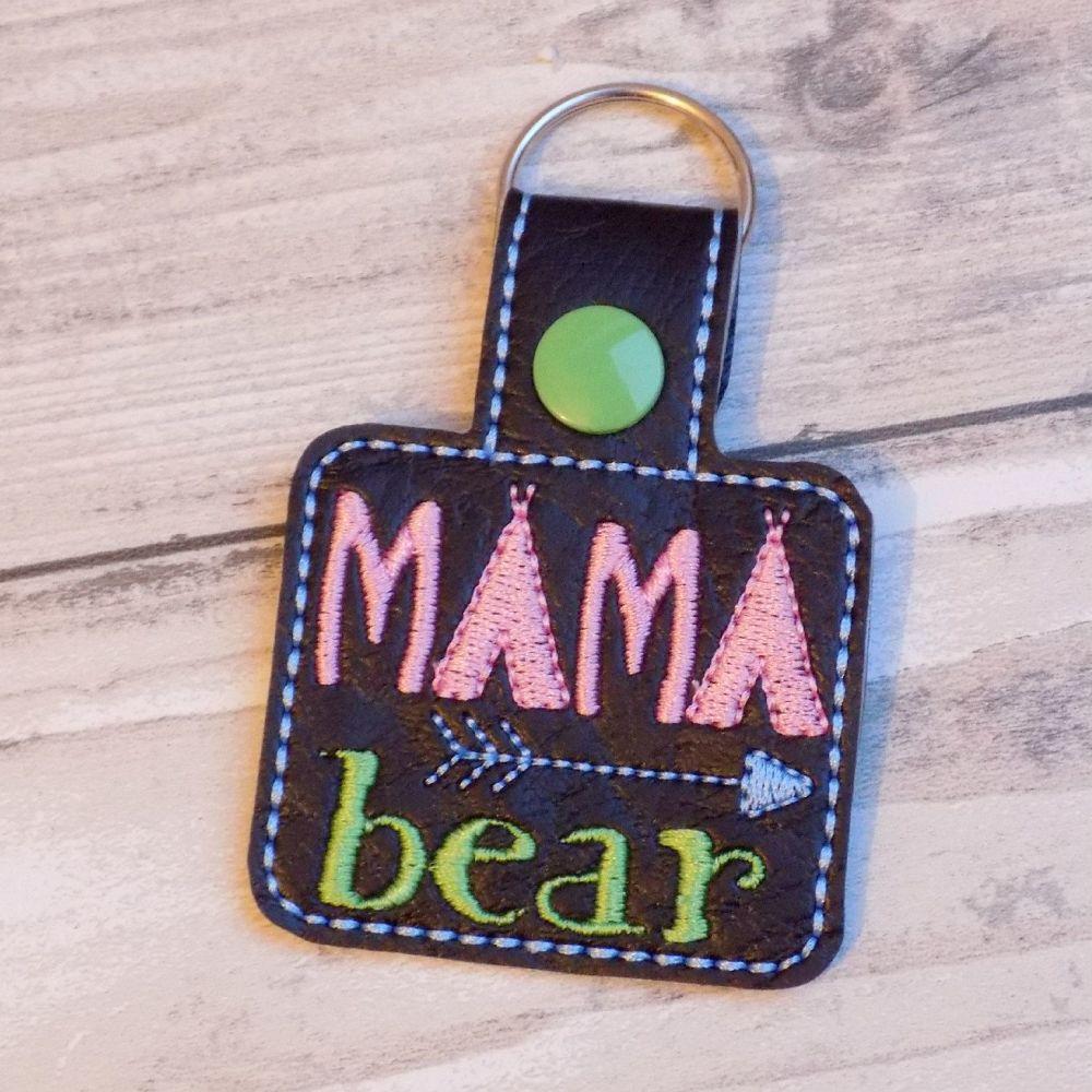 Mama Bear Keyring