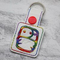 Cloth Nappy Keyring