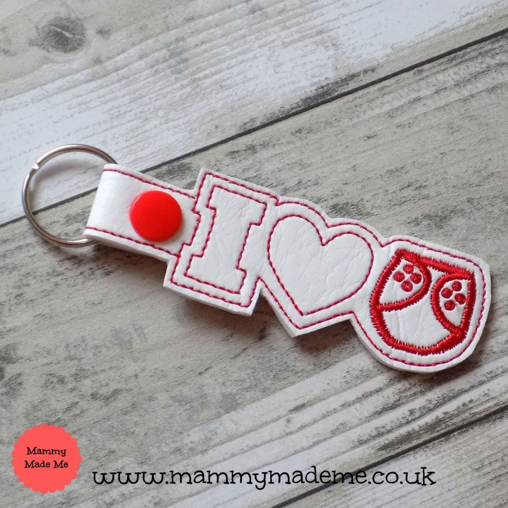 I Love Cloth Nappies Keyring