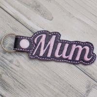 Mum Keyring