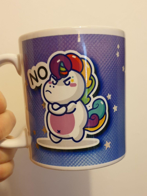 Angry Unicorn Mug