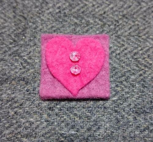 bright pink round