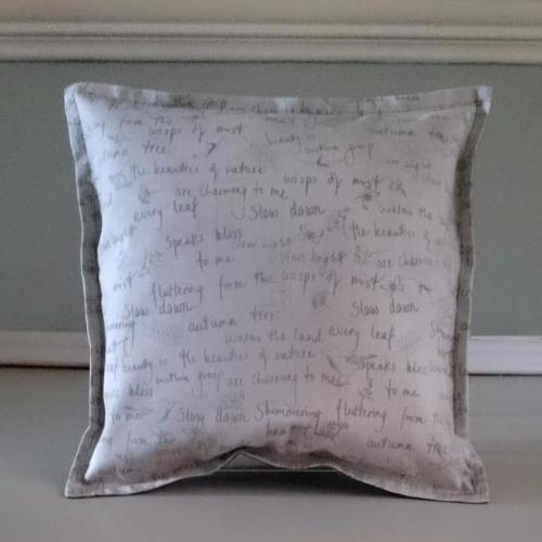 7. mini cushion