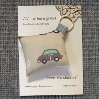8. transport key ring / bag charm