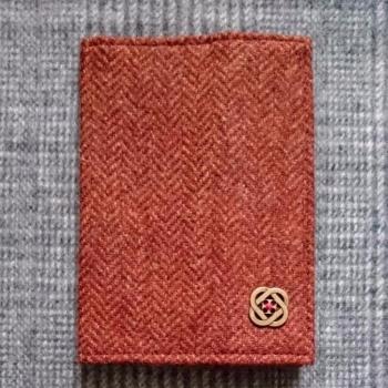 14. passport / notebook cover